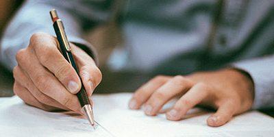 Email handtekening zetten