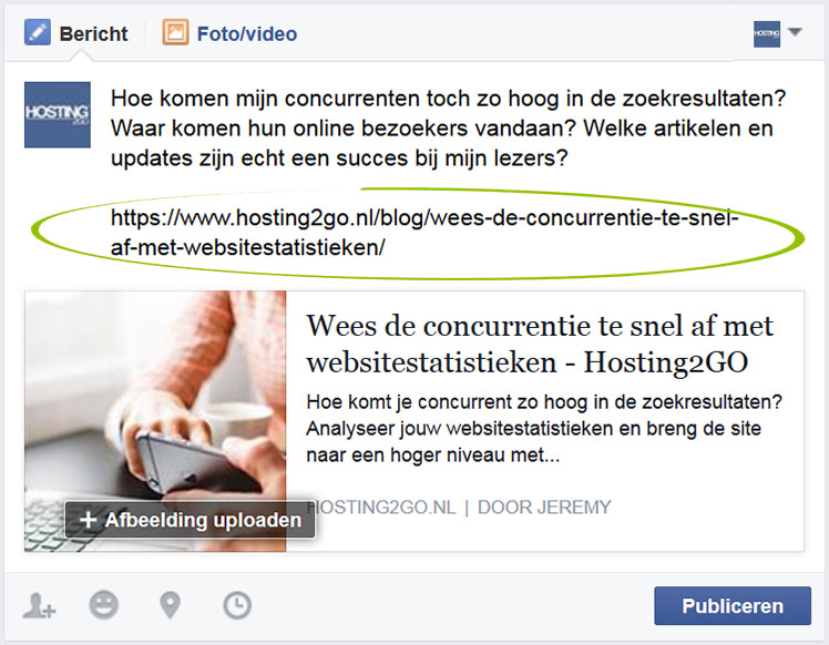 Link Facebook Ecosia