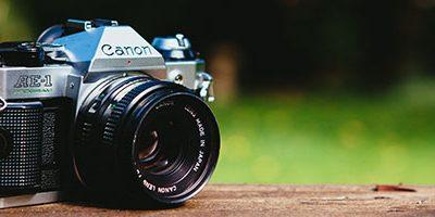 Canon vintage fotocamera