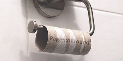 Page not found op toiletrol