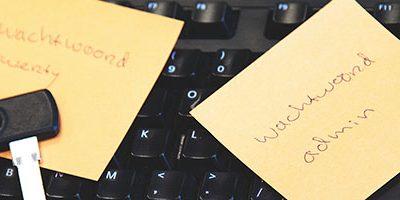 Brute force wachtwoorden op een post-it