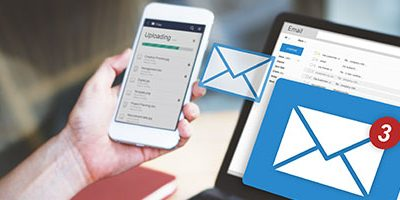 Spammails controleren op laptop en smartphone