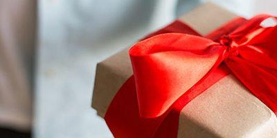 Weggever als cadeau