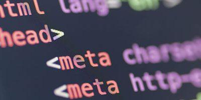 Meta tags als HTML code