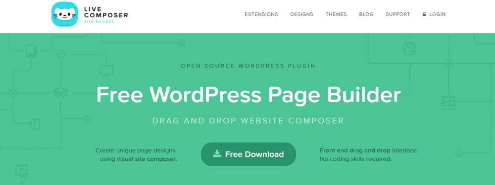 Live Composer pagebuilder voor WordPress